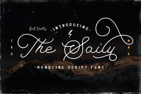 The Saily  Font
