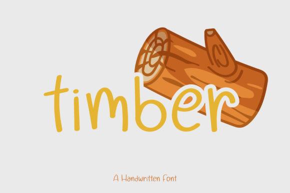Timber  Font