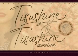 Tisushine Font