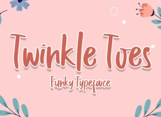 Twinkle Toes Font