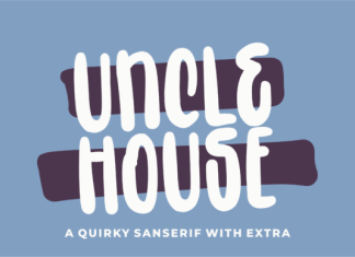 Uncle House Font