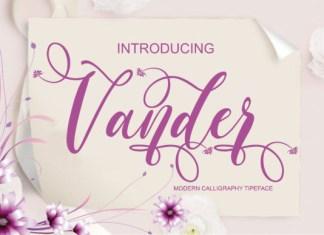 Vander Font