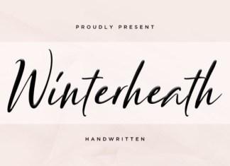 Winterheart  Font