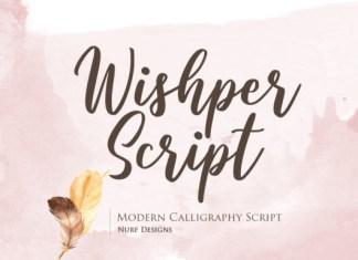 Wishper Font