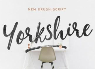 Yorkshire Font