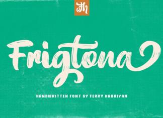 Frigtona Font