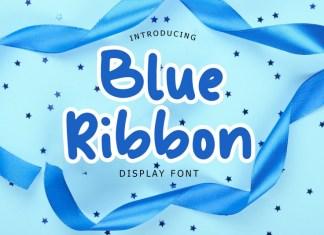 Blue Ribbon Font