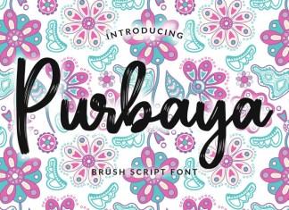 Purbaya Font