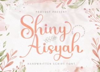 Shiny Aisyah Font