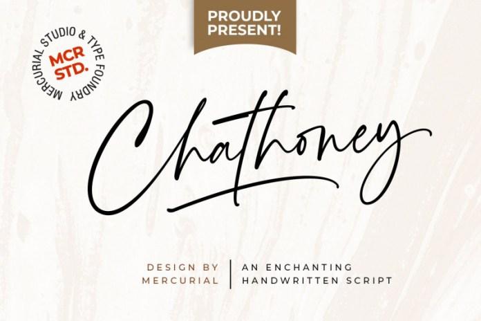 Chathoney Font