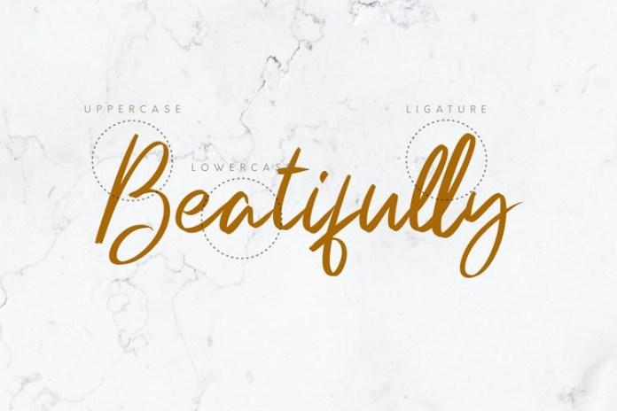 Beautifully Font