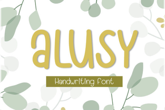 Alusy Font