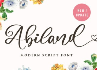 Amiland Font