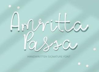 Amritta Passa Font