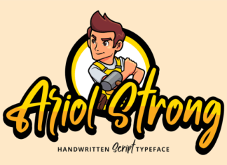 Ariol Strong Font