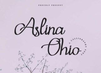 Aslina Ohio Font