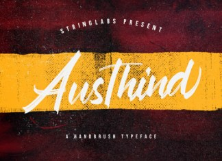Austhind Font