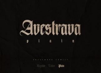 Avestrava Font