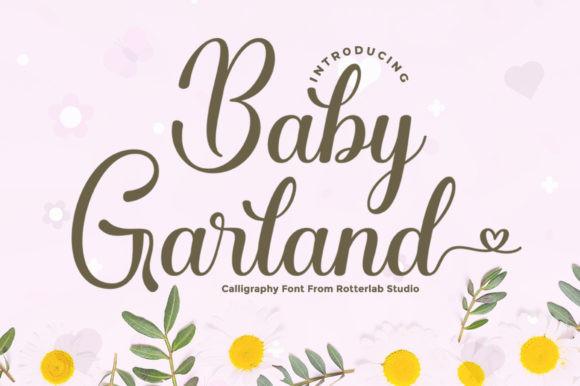Baby Garland Font