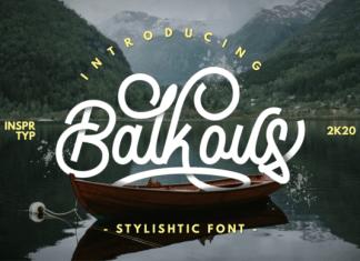 Balkous Font