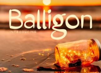 Balligon Font