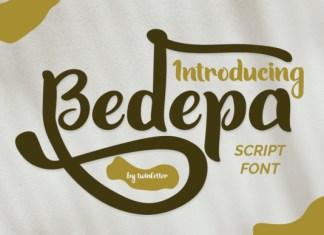 Bedepa Font