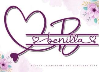 Benilla Font