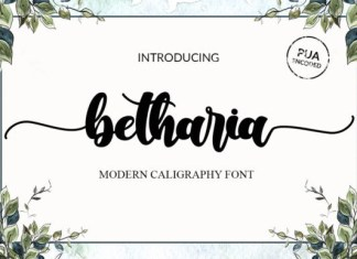 Betharia Font