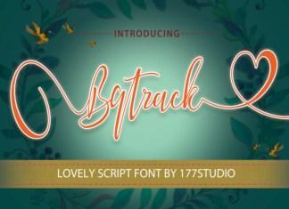 Bqtrack Font
