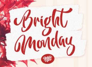 Bright Monday Font