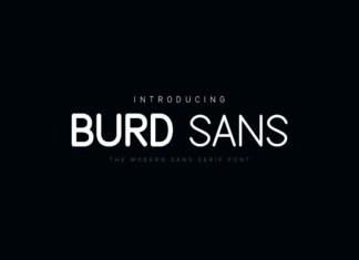 Burd Sans Font