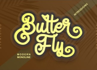 Butter Fly Font