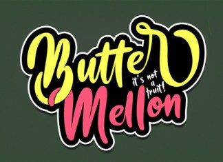 Butter Mellon Font