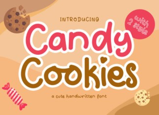 Candy Cookies Font