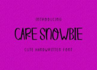 Care Snowbie Font