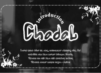 Chadal Font