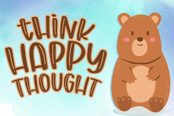 Chunky Bear Font