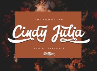 Cindy Julia Font