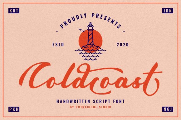 Coldcoast Font