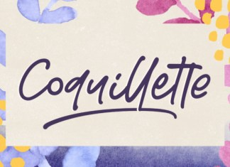 Coquillette Font