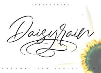DaisyRain Font