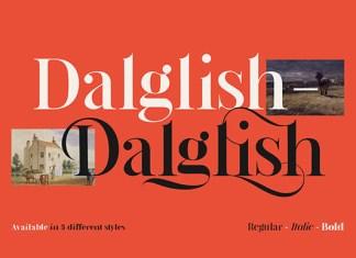 Dalglish Font