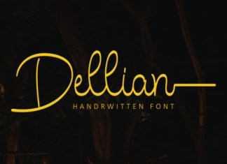Dellian Font