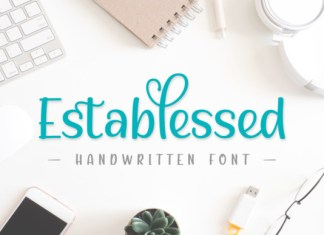 Establessed Font