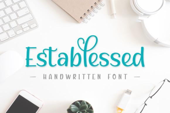 Establessed Font