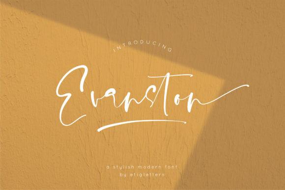 Evanston Font