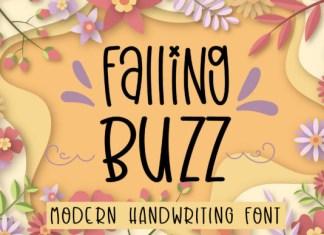 Falling Buzz Font