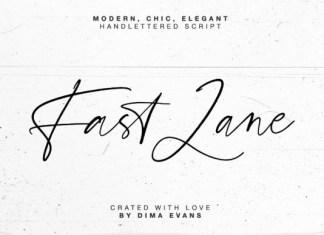 Fast Lane Font