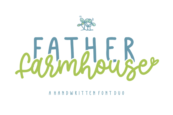 Father Farmhouse Font