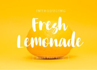 Fresh Lemonade Font